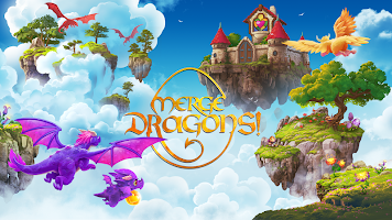 لعبة Merge Dragons!‏
