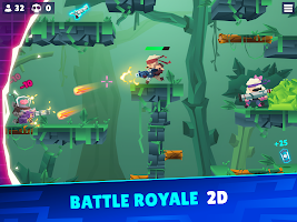 Bullet League – BATTLE ROYALE 2D