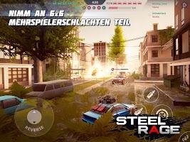 Steel Rage: Roboter-Auto PvP-Shooter Kriegsführung