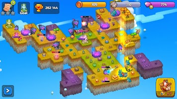 Merge World Above: Giochi di draghi