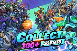 Idle Agents: Evolved