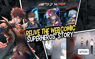 Hero Cantare with WEBTOON
