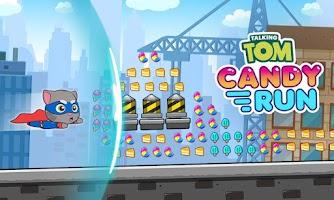 оворящий Том: за конфетами!