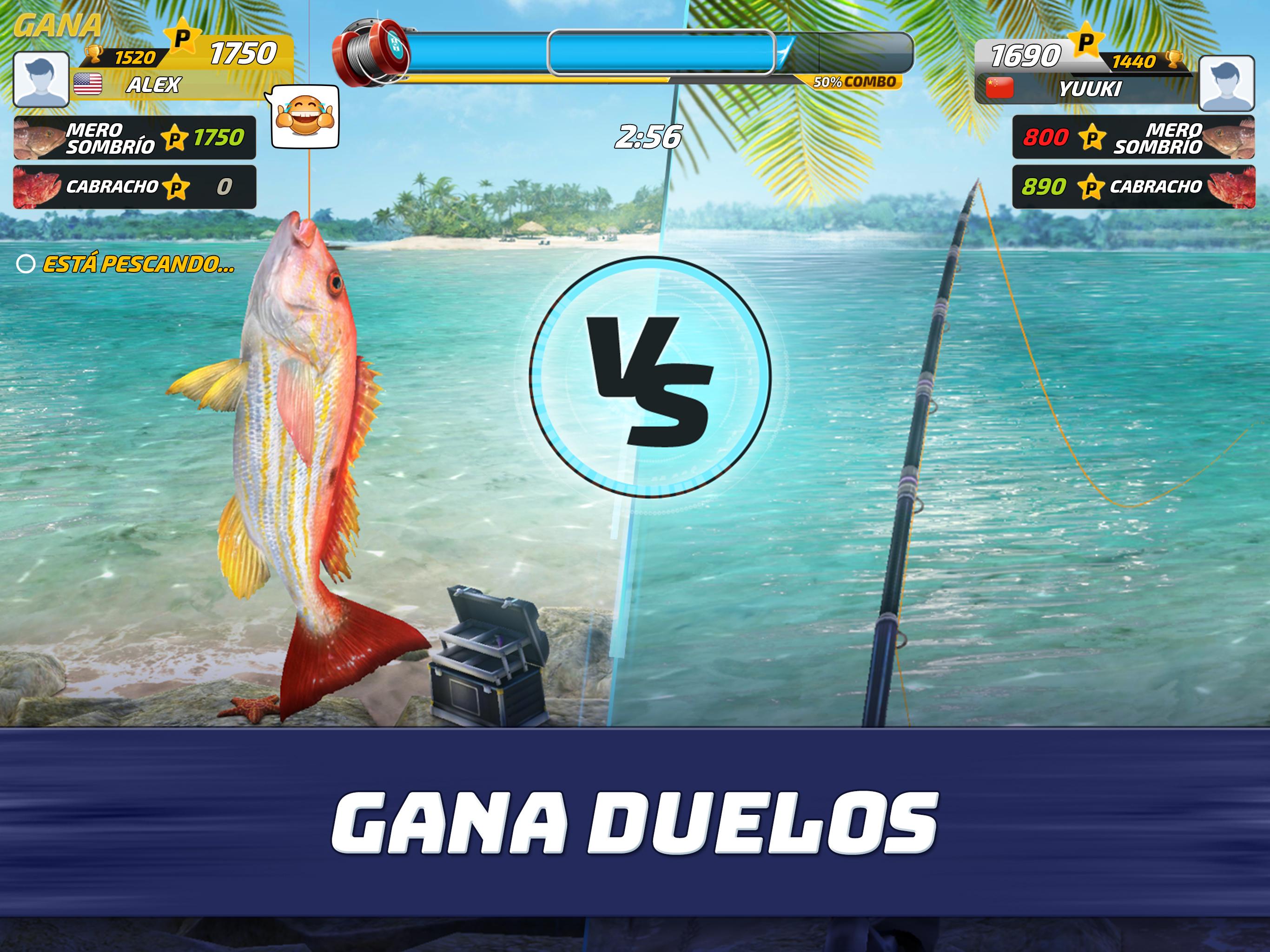 Fishing Clash en pc como jugar