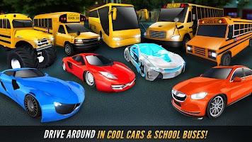 Super High School Bus Driving Simulator 3D – 2018