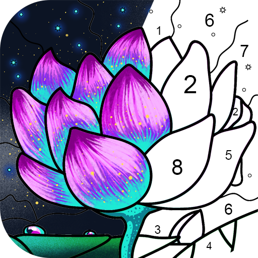 Paint By Number – Free Coloring Book & Puzzle Game