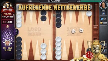 Backgammon – Lord of the Board – Brettspiel