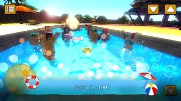 워터 파크 크래프트 : 3D 모험 워터 슬라이드 만들기